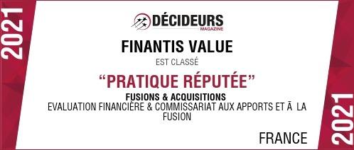 Finantis Value Evaluation Fusion Acquisition M&A
